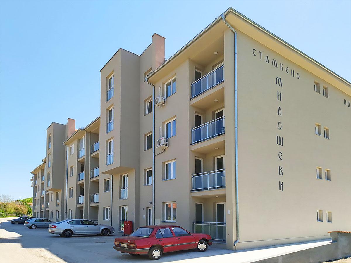 Apartman AD - Zgrada i parking