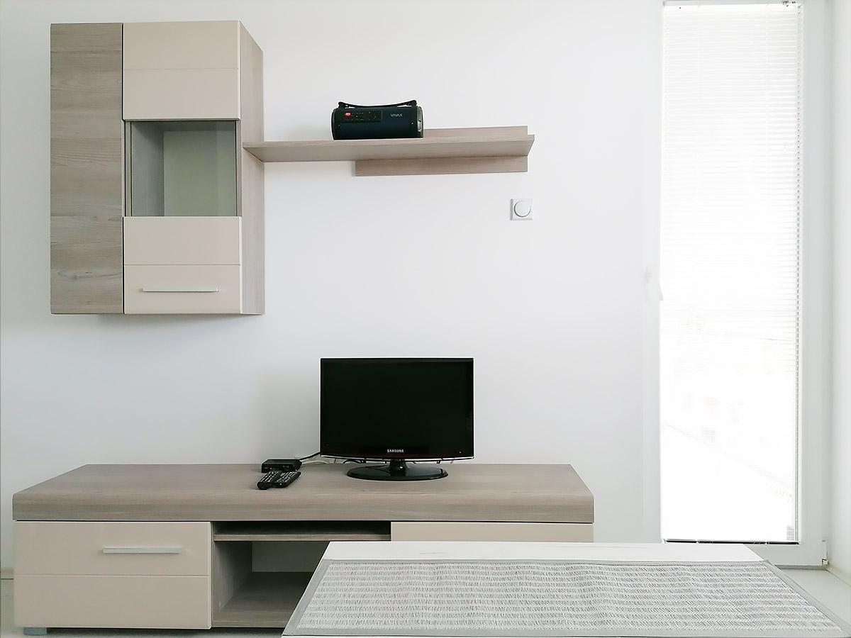 Apartman AD - Dnevna soba: TV