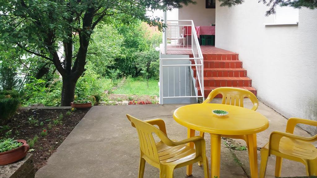 Apartman Kneginja - Dvorište