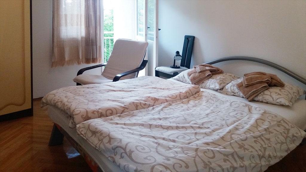 Apartman Kneginja - Spavaća soba 1 - Francuski ležaj
