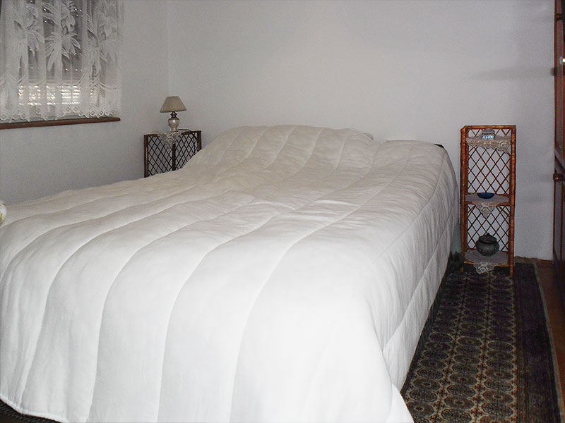 Apartman Lena - Spavaća soba sa francuskim ležajem