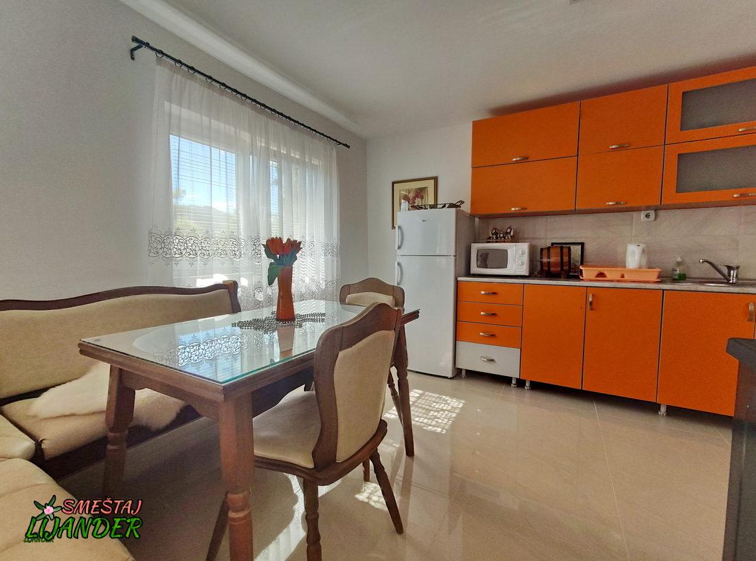 Apartman Lijander - Trpezarija i kuhinja