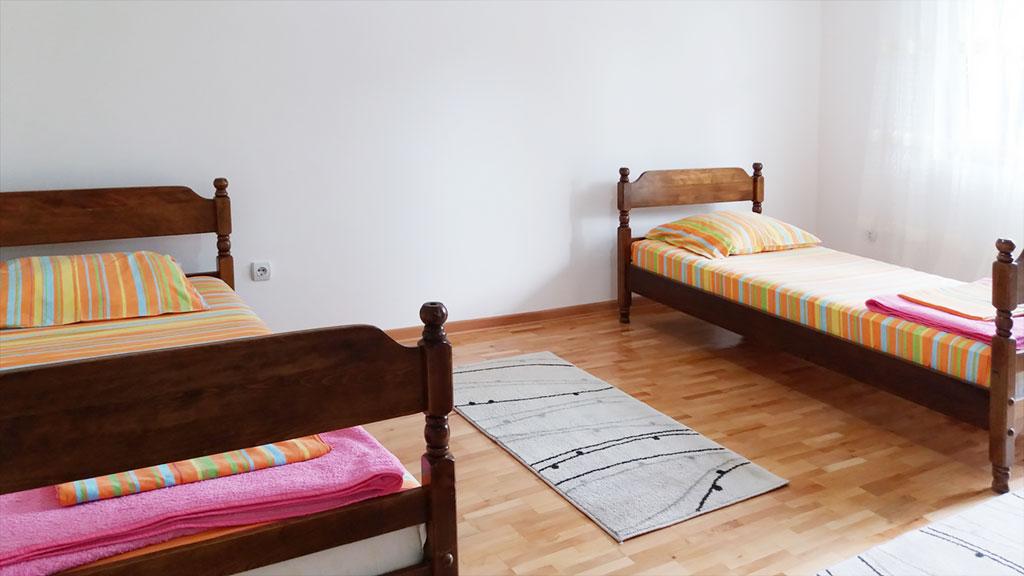 Apartman Fani - Spavaća soba 2 - Odvojeni kreveti