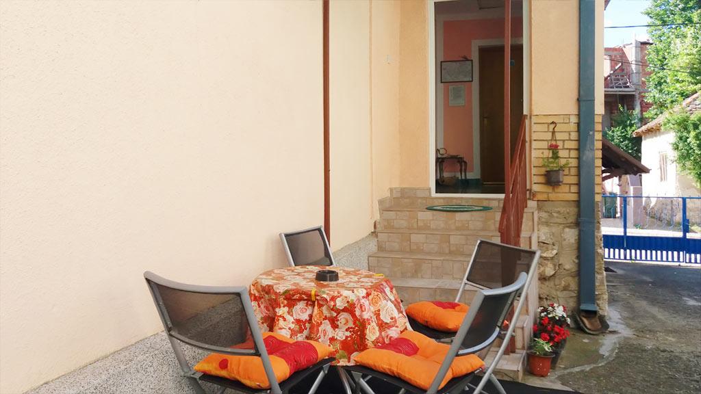 Apartman Topola - Dvorište