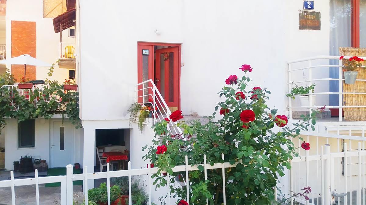 Apartmani Milovanović - Dvorište