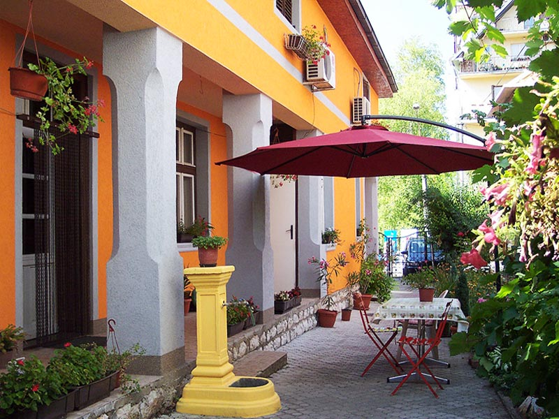 Apartmani Janković - Dvorište