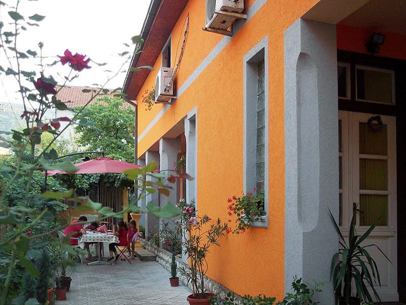 Apartmani Janković - Dvorište sa letnjom baštom