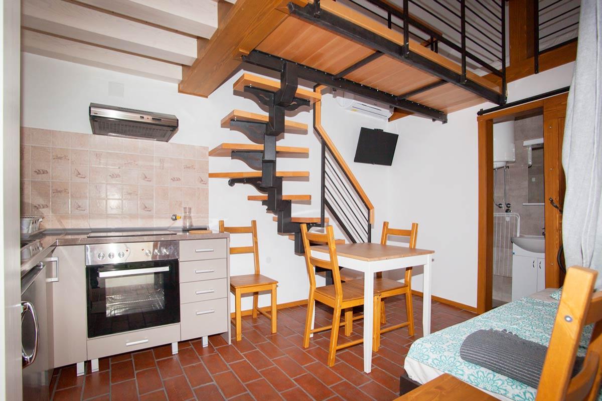 Apartman A2 - Dnevna soba sa kuhinjom