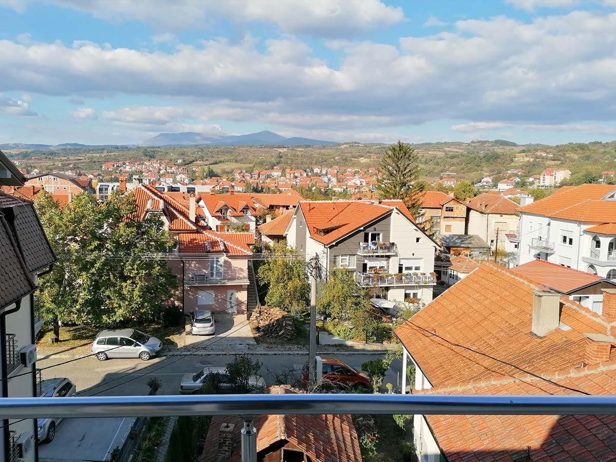 Apartman Mira 1 - pogled sa terase