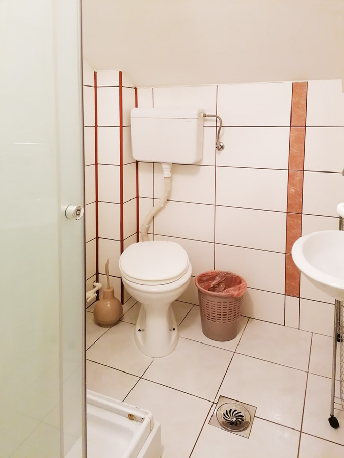 Apartman Mira 1 - toalet