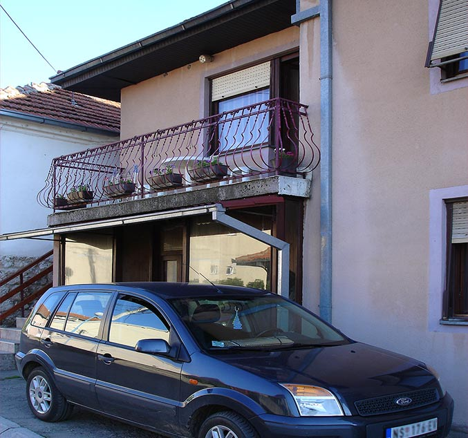 Apartman MIMILUX - parking