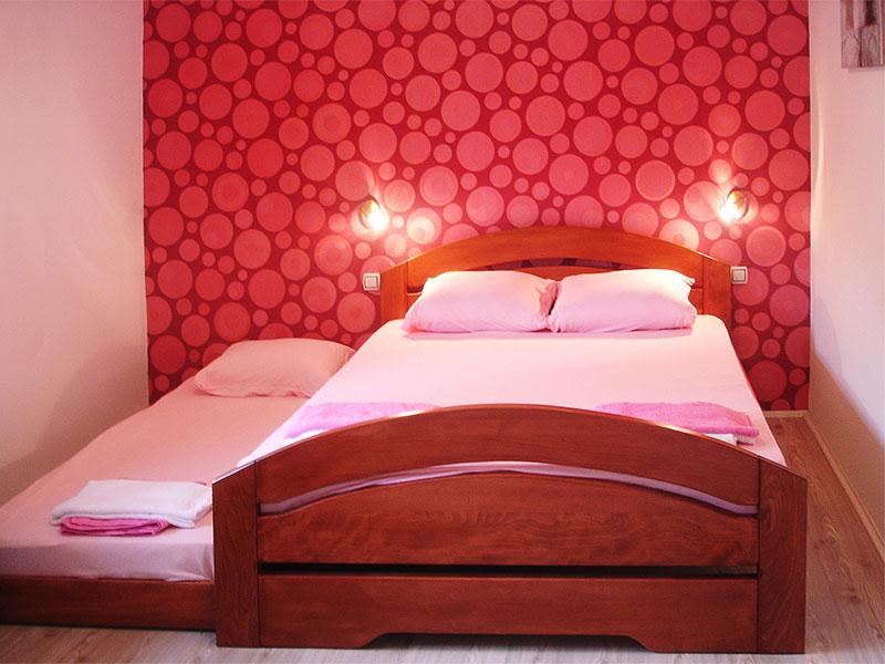 Apartman Iris - spavaća soba