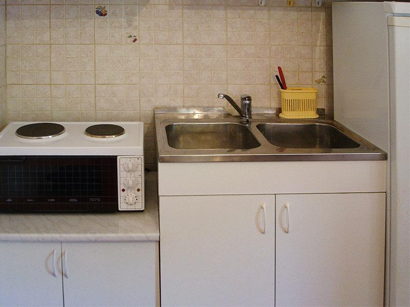 Apartman Nica - Kuhinja u dnevnom boravku