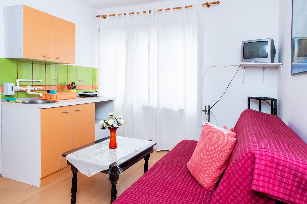 Apartman A2 - Trosed na rasklapanje