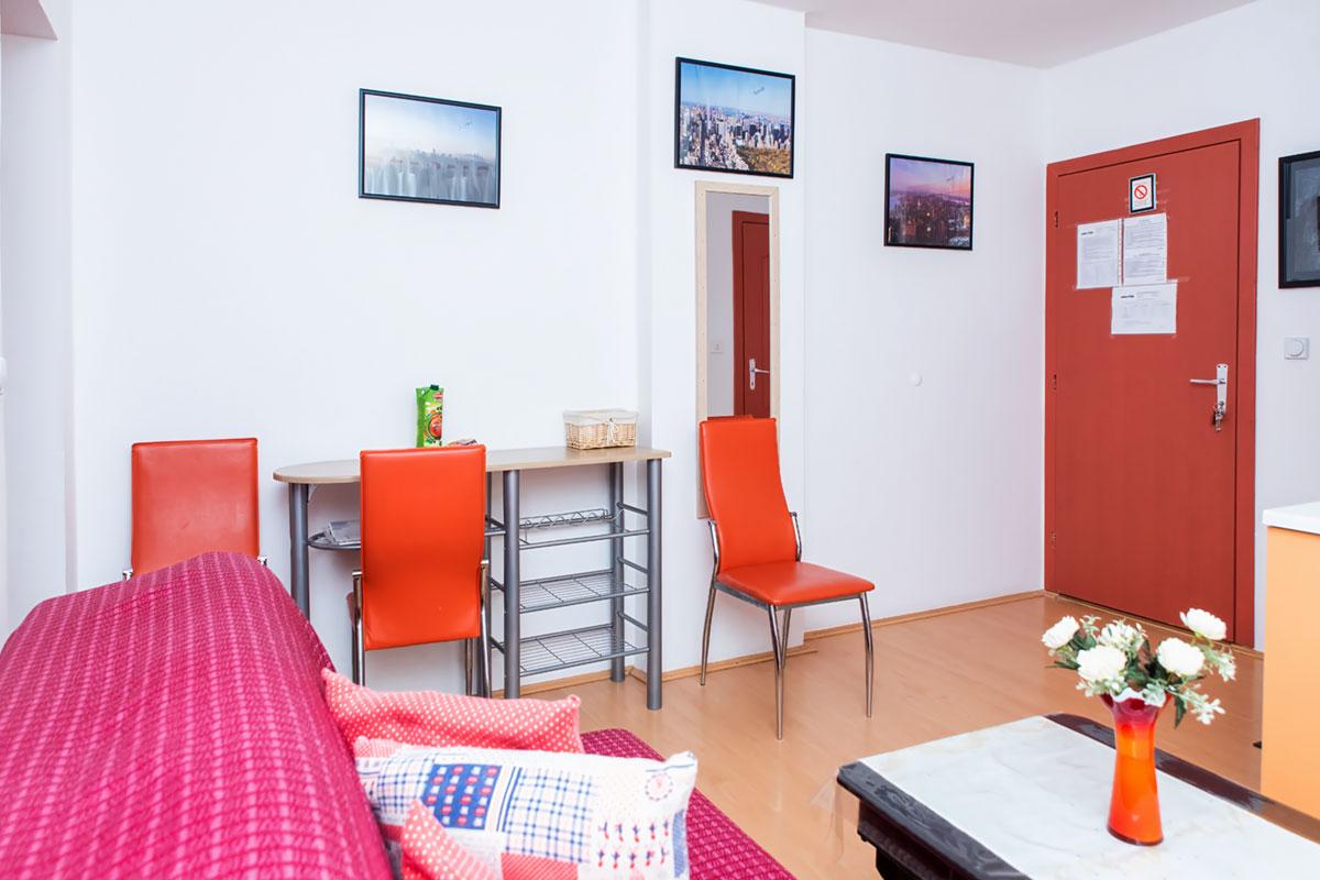 Apartman A2 - Trpezarijski deo