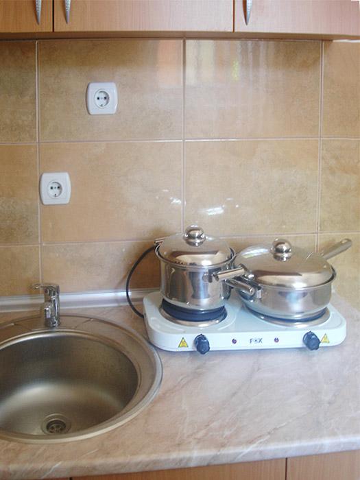 Studio 1 Merlin - Kuhinjski deo