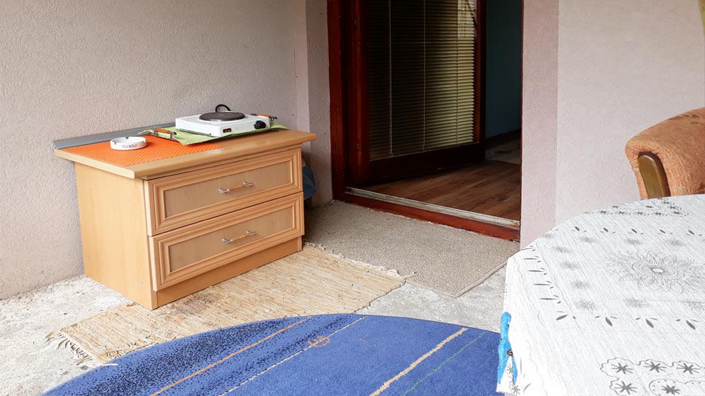 Sobe Lana - Dvokrevetna soba 1 - Zajednička terasa