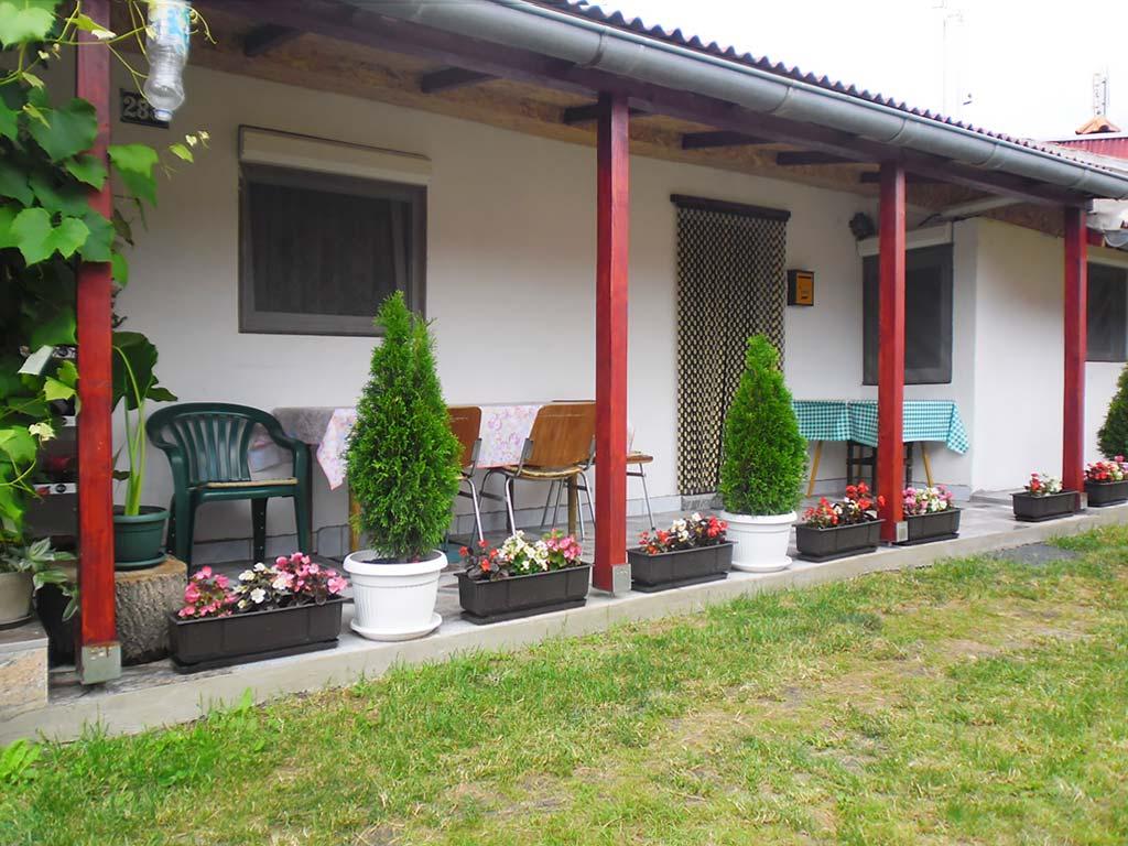 Sobe Nikola i Mihajlo - Dvorište