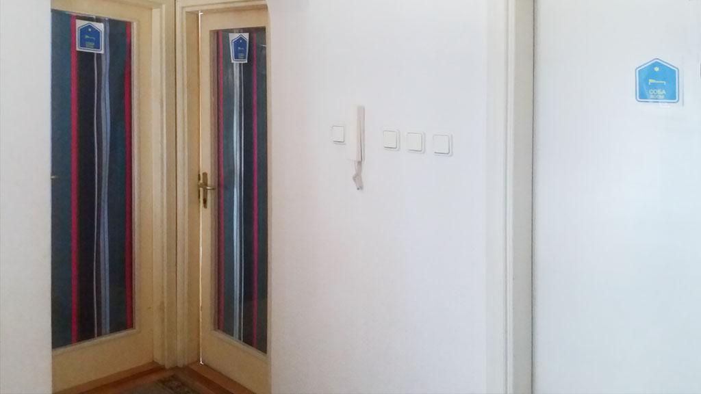 Sobe Vile Dijamant - Raspored soba